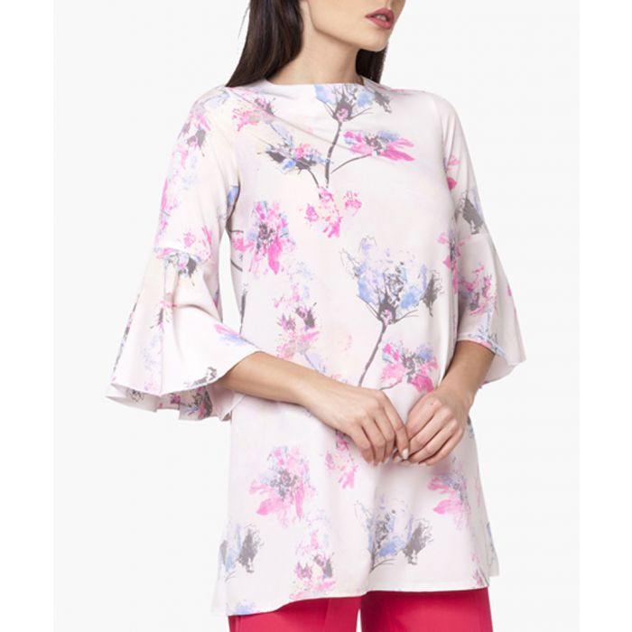 Image for Pink, Grey & Full Colours Woven Tunic Shirt