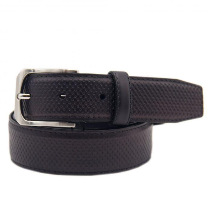 Image for Mens black leather belt