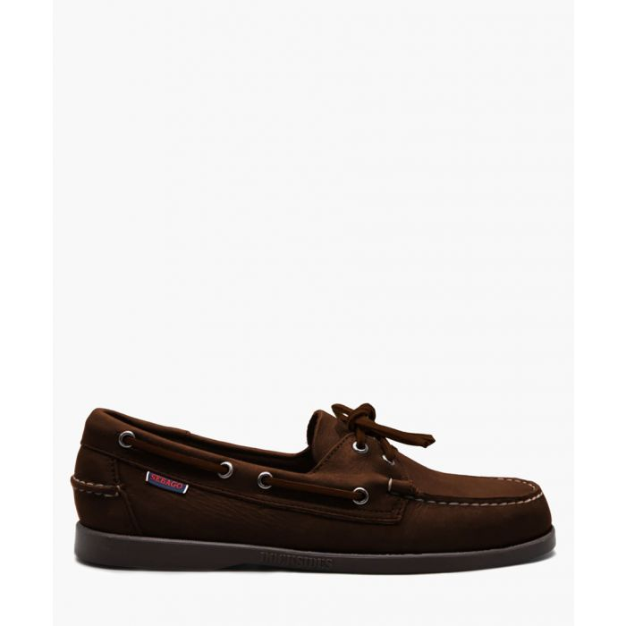 Image for Docksides Portland brown suede boat shoes