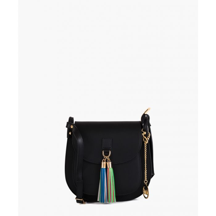 Image for Cesena black leather crossbody