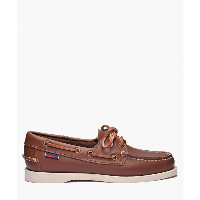 Image for Dockside Portland brown suede shoes