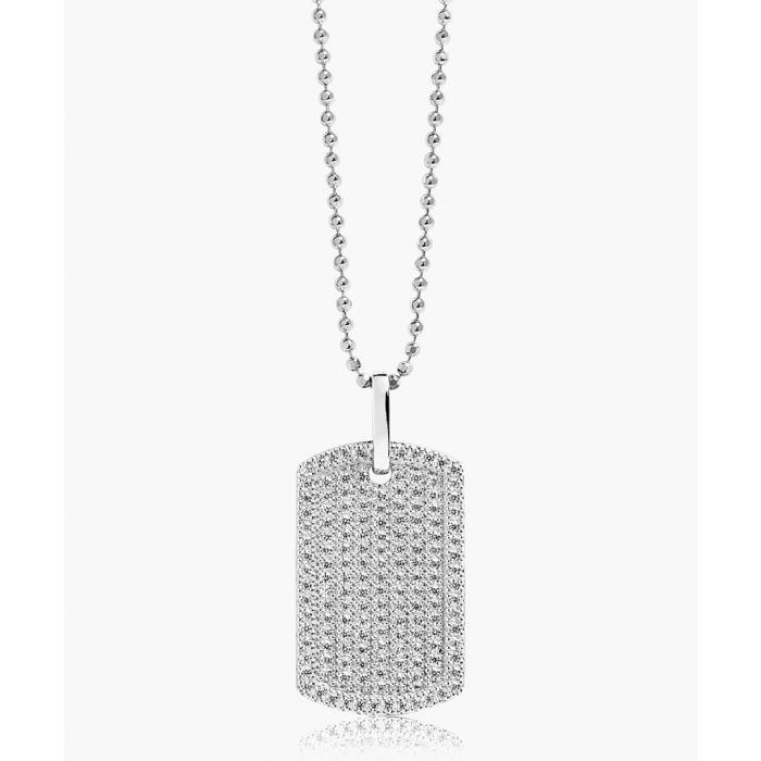 Image for Gemmano Grande sterling silver pendant