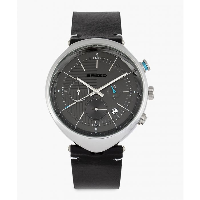 Image for Tempest leather chronograph watch