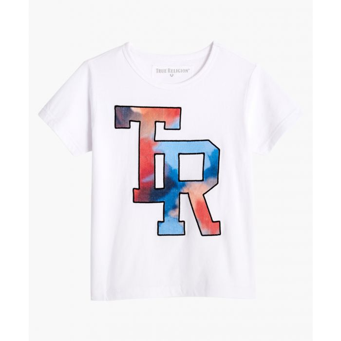 Image for Boys white cotton T-shirt