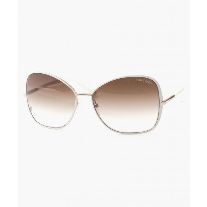 Image for Gold-tone gradient sunglasses