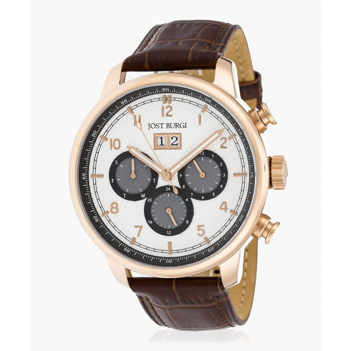 Image for Montesquieu brown leather watch
