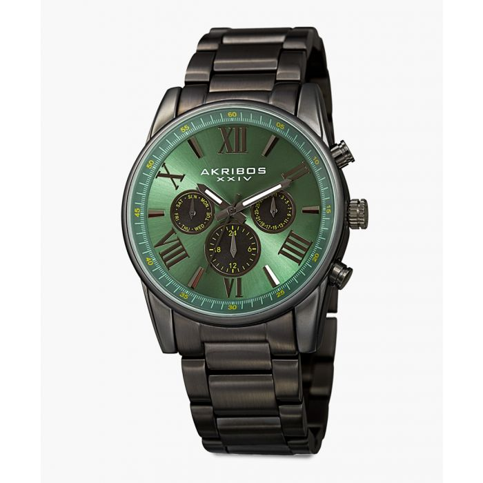 Image for Black chronograph watch