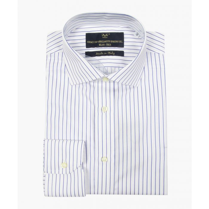 Image for White pure cotton classic collar shirt