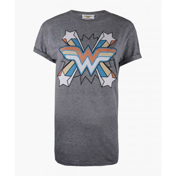 Image for WW burst graphite cotton blend T-shirt