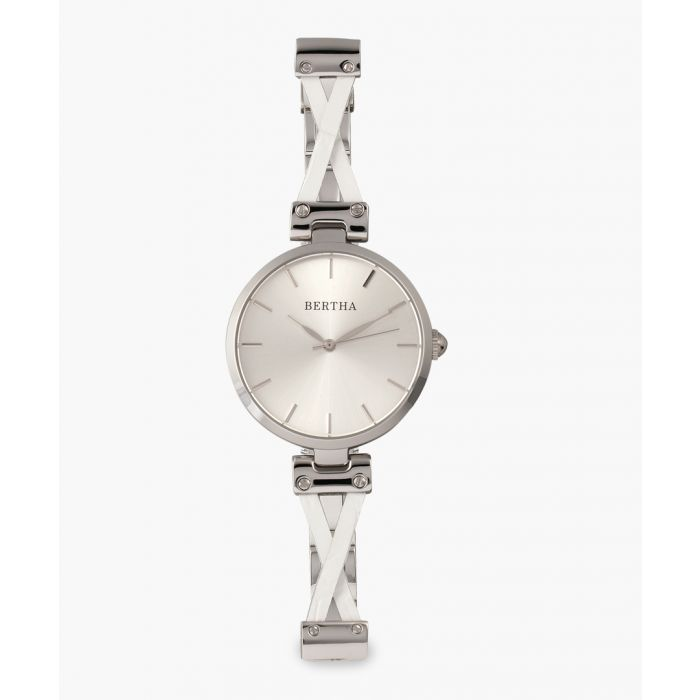 Image for Amanda silver-tone watch