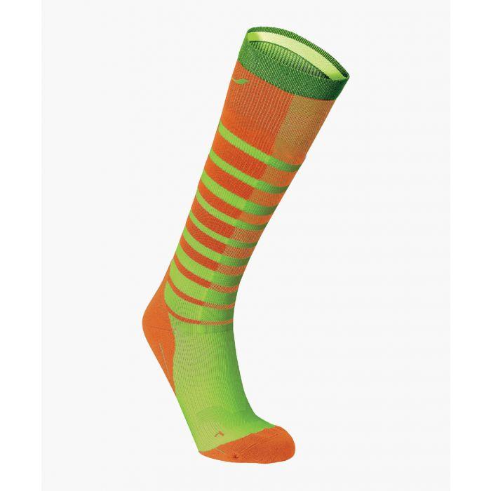 Image for Striped Run compression socks