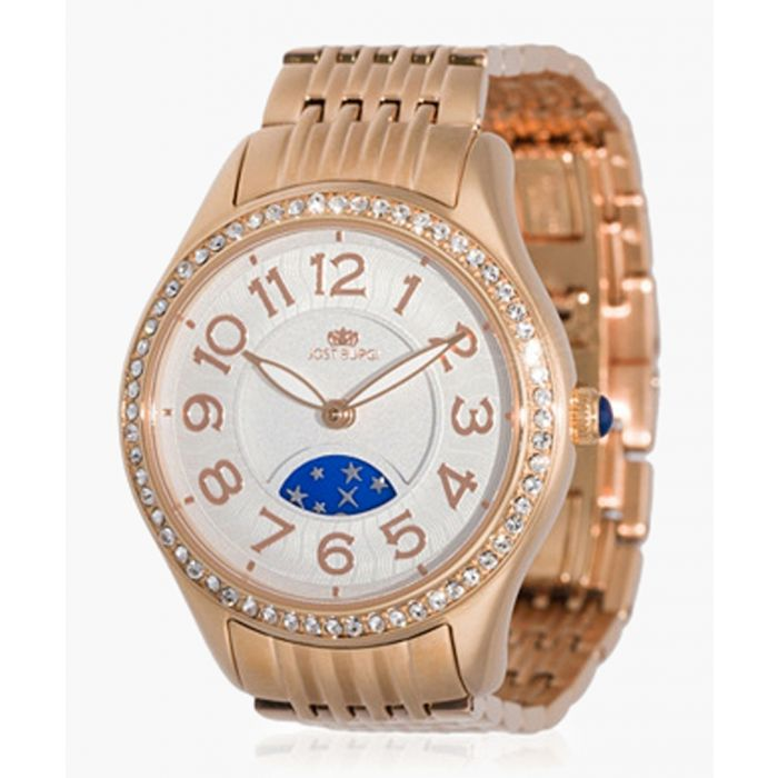Image for Stella rose gold-plated watch