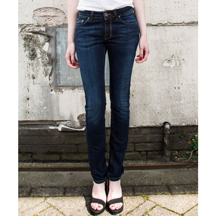 Image for Womens Regular Swan strong blue jeans
