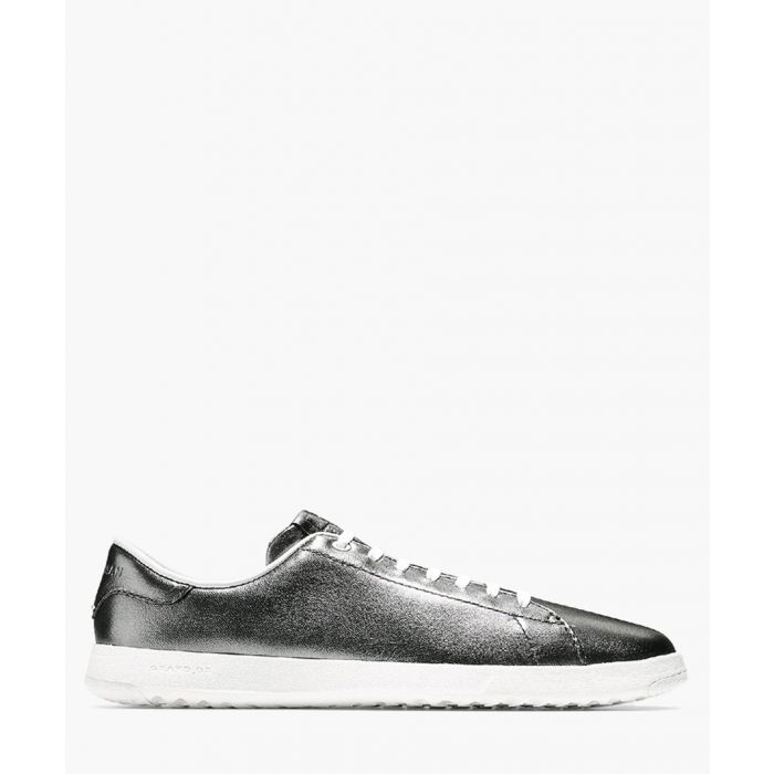Image for Womens silver-tone trainers
