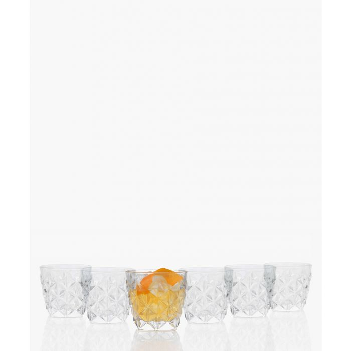 Image for 6pc Enigma Luxion Crystal glass whisky tumblers 370ml