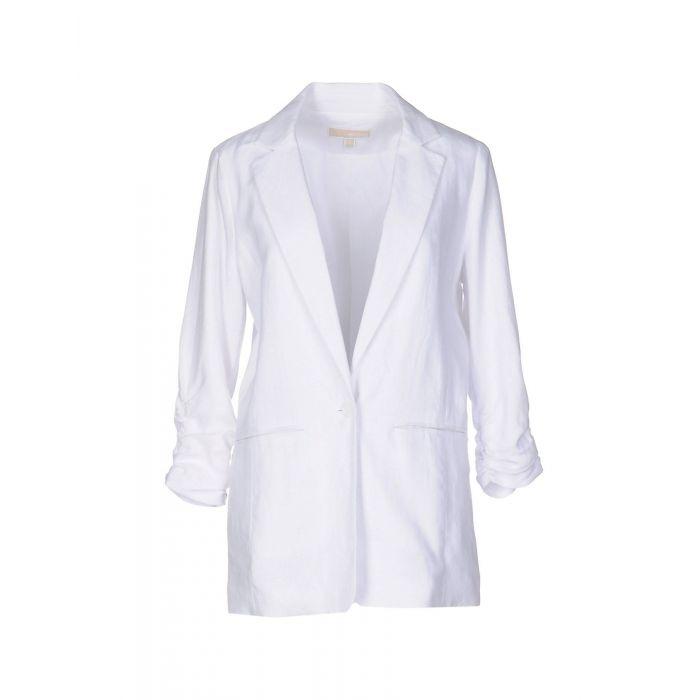 Image for Michael Michael Kors White Linen Giacche