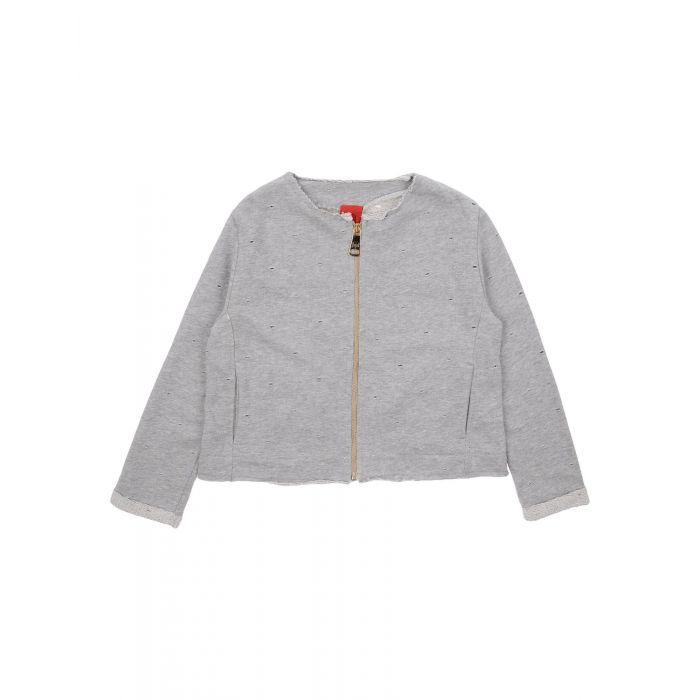 Image for Grey cotton blazer