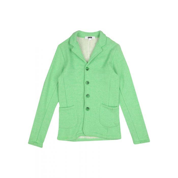 Image for Light green cotton blazer