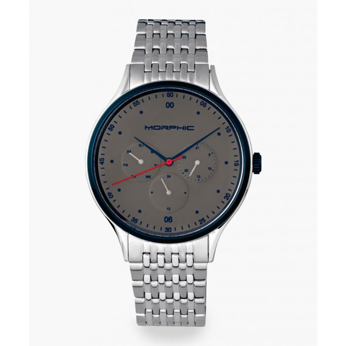 Image for Morphic M65 Series silver-tone watch