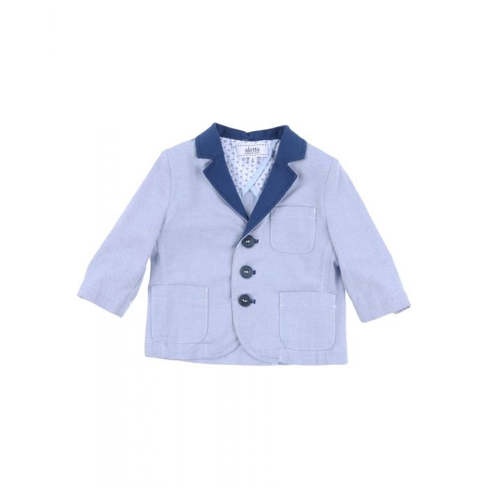 Image for Blue cotton blazer
