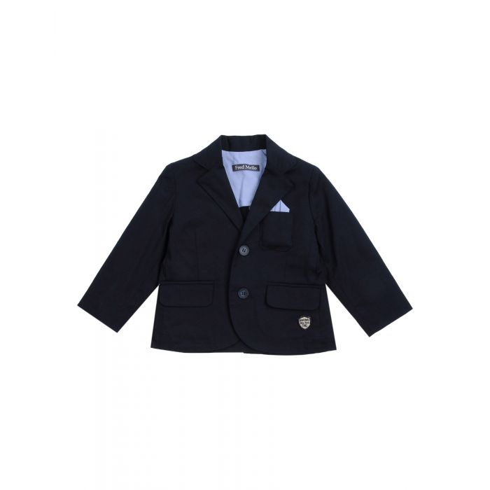 Image for Black cotton blazer