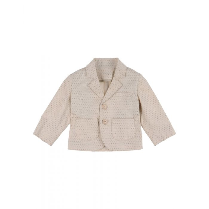 Image for Beige cotton blazer
