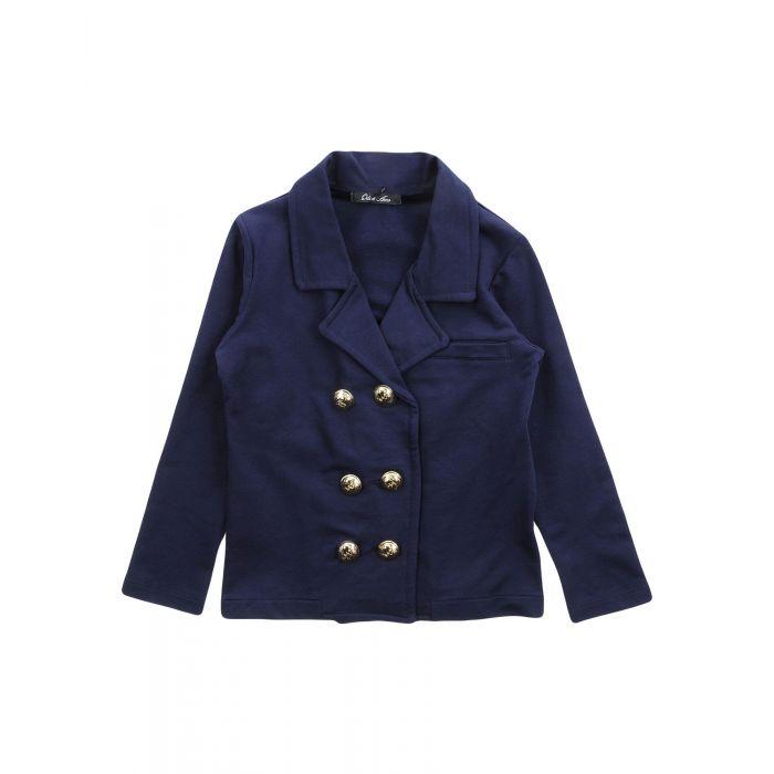 Image for Dark blue cotton blazer