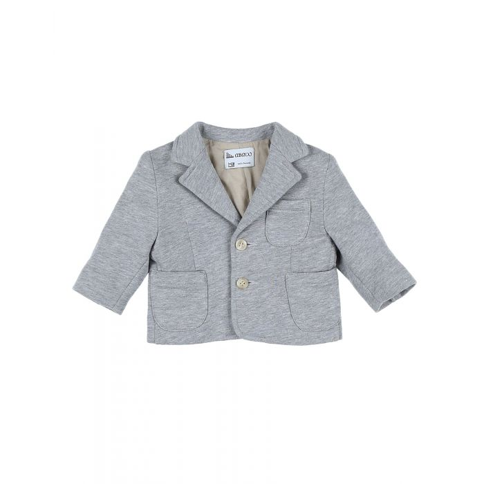 Image for Grey cotton blazer