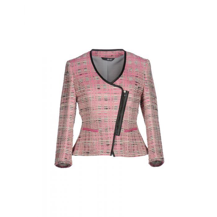 Image for Pink tweed blazer