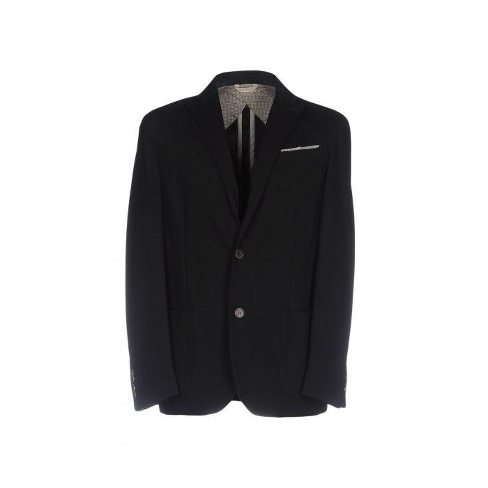 Image for Black single-breasted blazer