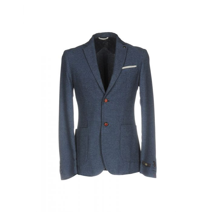 Image for Blue wool blend single-breasted blazer
