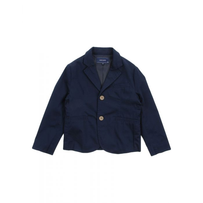 Image for Dark blue cotton blazer