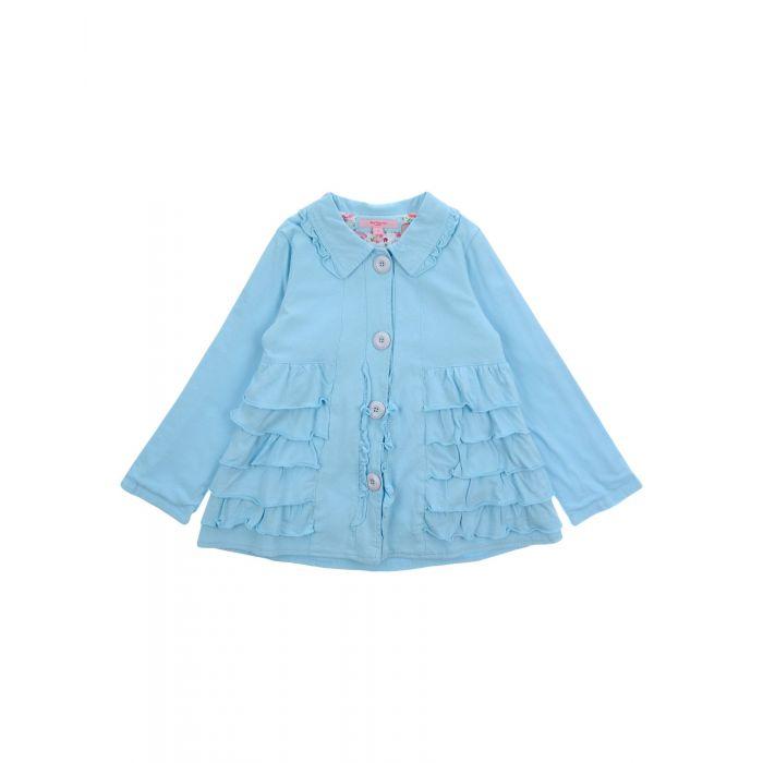 Image for Sky blue cotton blazer
