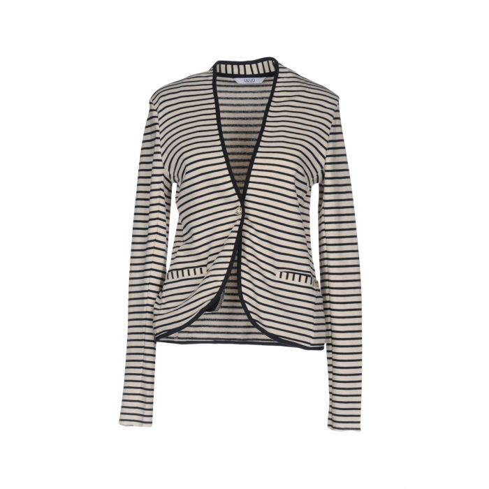 Image for Ivory pure cotton single-breasted blazer