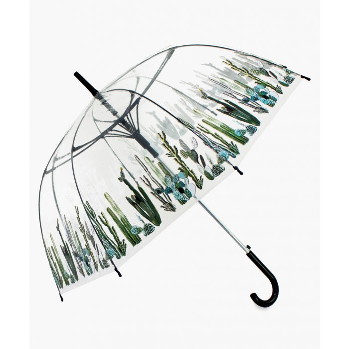Image for Green cacti transparent umbrella