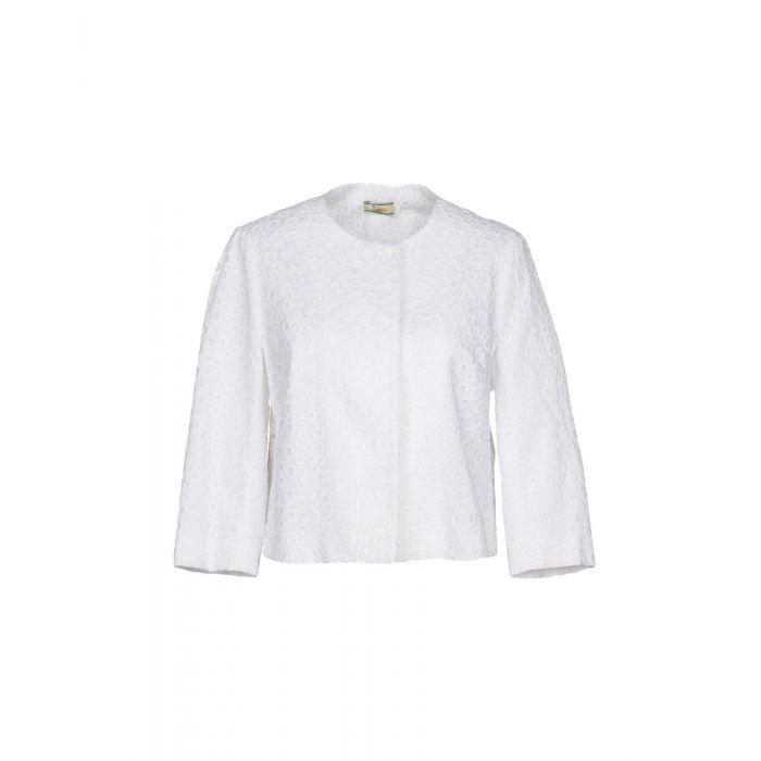 Image for Issa White Cotton Giacche