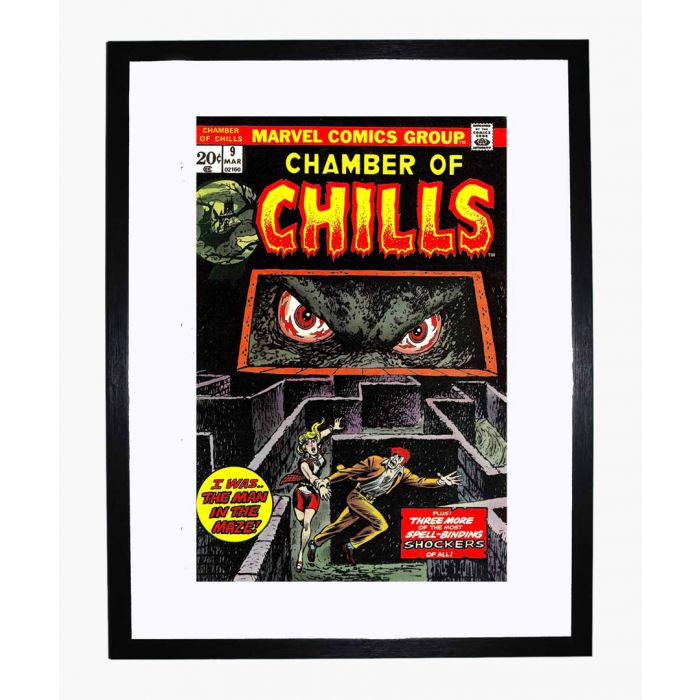 Image for Chamber of Chills 09 framed print