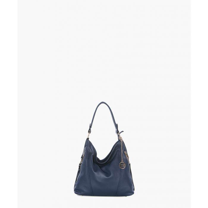 Image for Castello navy shoulder bag