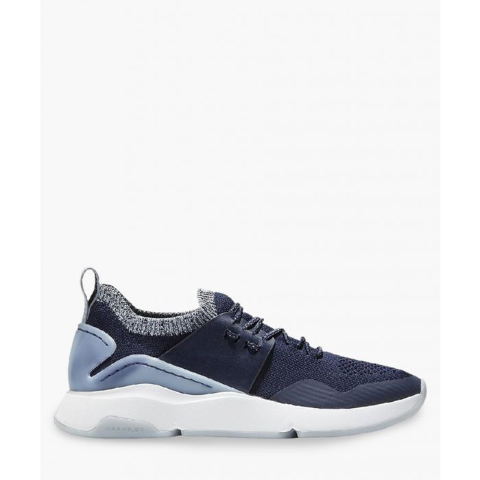 Image for Womens blue knit trainers