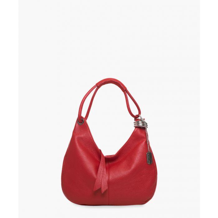 Image for Alba red shoulder bag