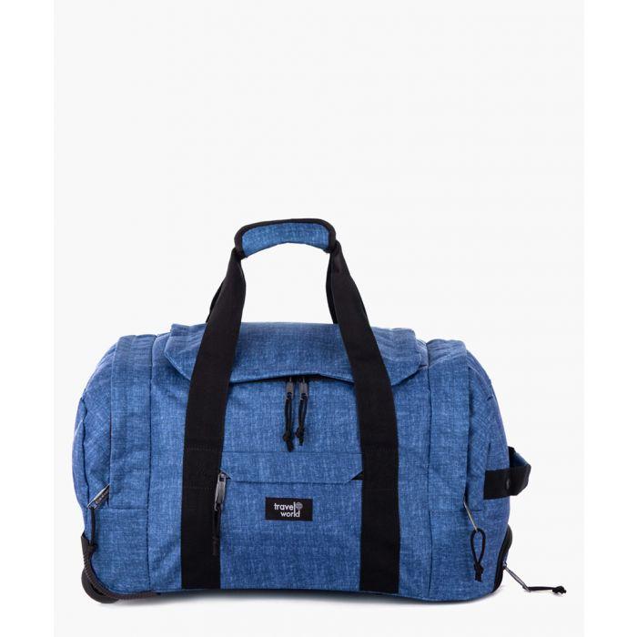 Image for 2pc blue luggage set
