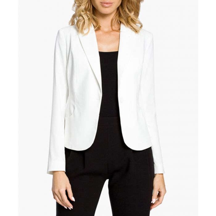 Image for White Woven Jacket