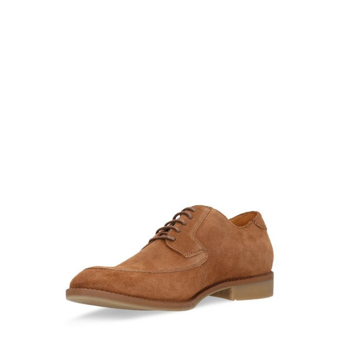 Image for Cognac suede lace-up brogues