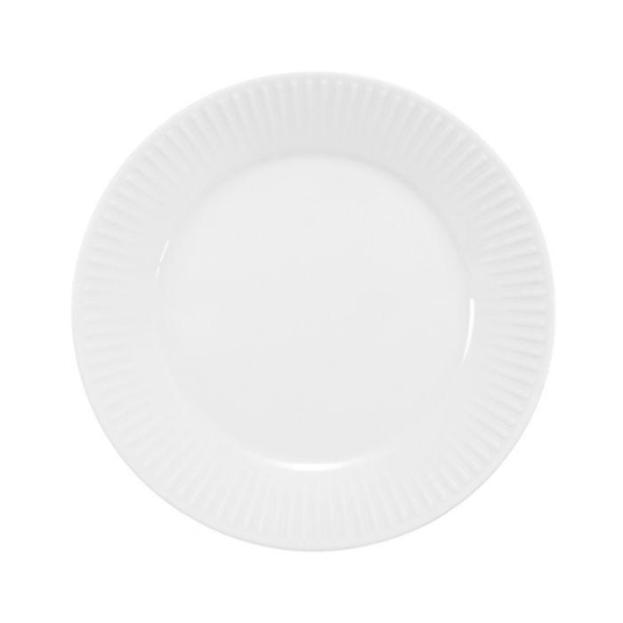 Image for 4pc white dessert plates 18cm