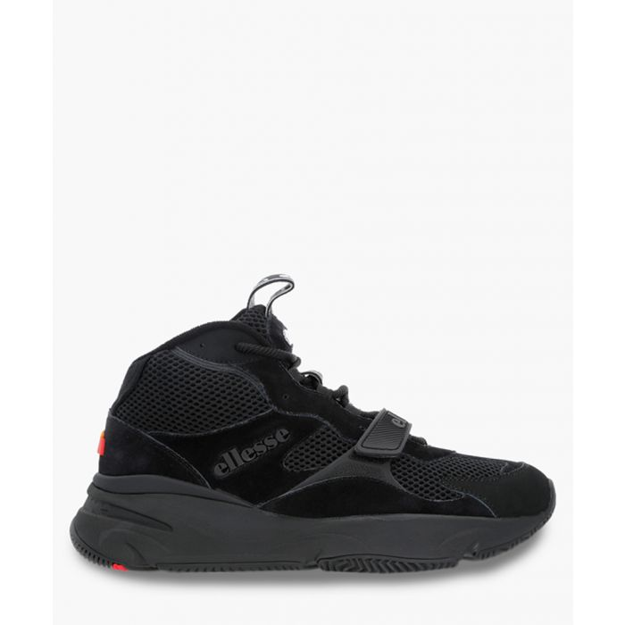 Image for Black logo trainers
