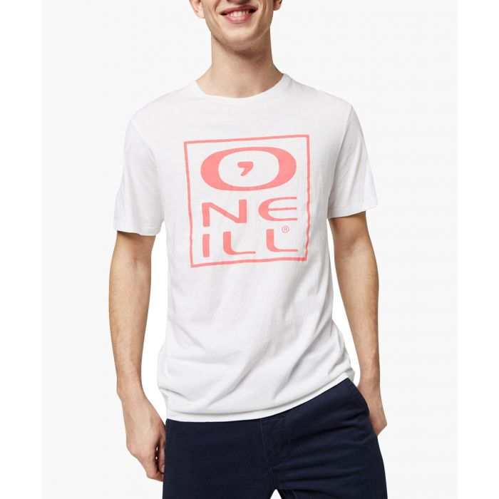 Image for White cotton logo T-shirt