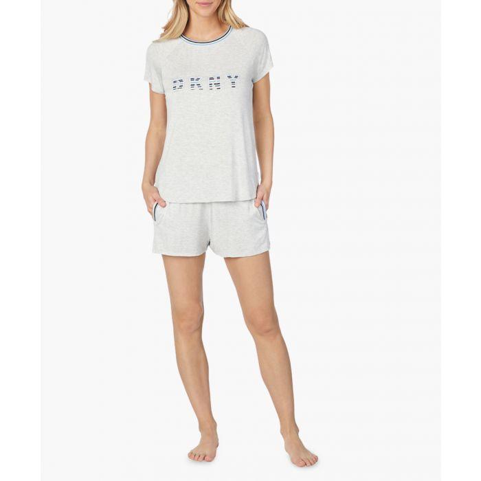 Image for 2pc Logo pyjama shorts set