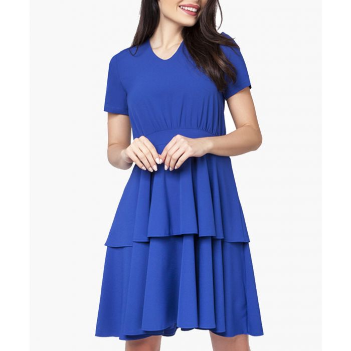 Image for Cobalt woven dress