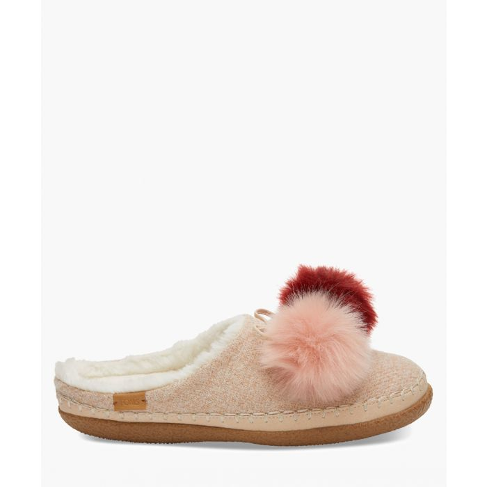 Image for Ivy pink slippers
