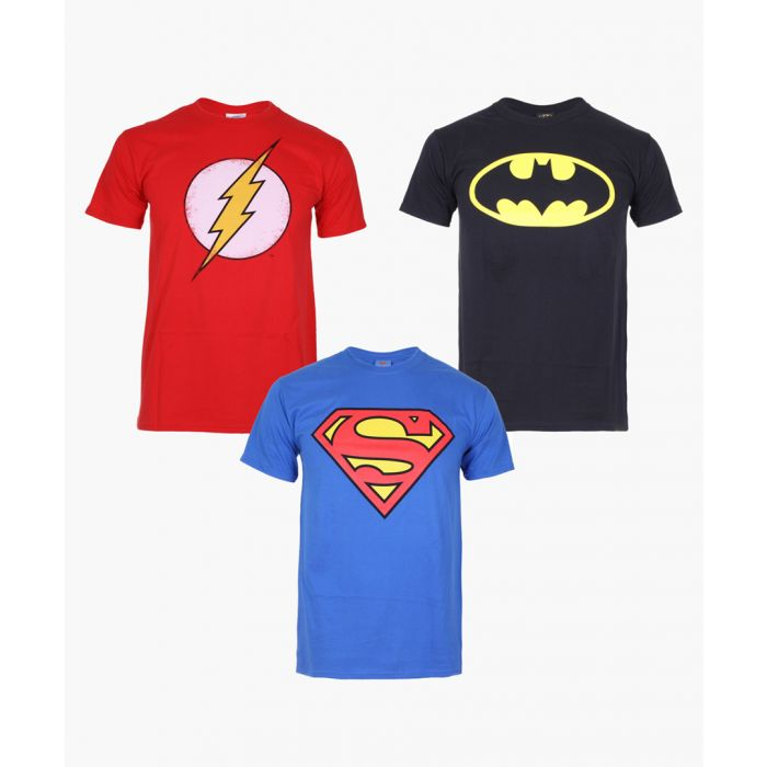 Image for 3pc Batman Flash Superman cotton T-shirt set